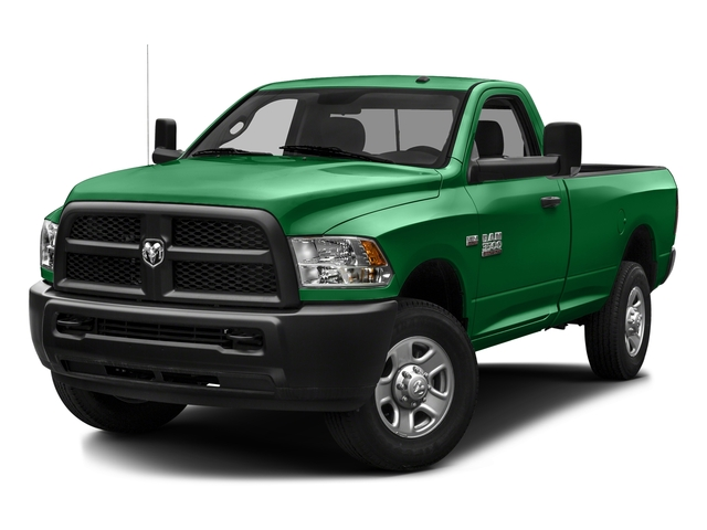 Bright Green 2016 Ram Truck 3500 Pictures 3500 Regular Cab SLT 2WD photos front view