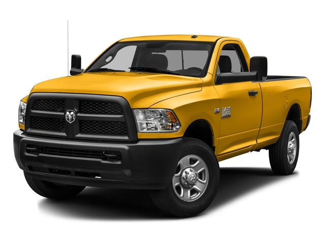 Construction Yellow 2016 Ram Truck 3500 Pictures 3500 Regular Cab SLT 2WD photos front view