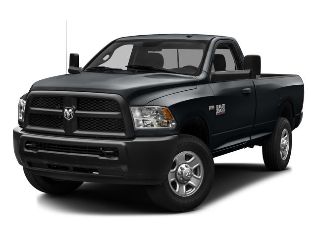 Maximum Steel Metallic Clearcoat 2016 Ram Truck 3500 Pictures 3500 Regular Cab SLT 2WD photos front view