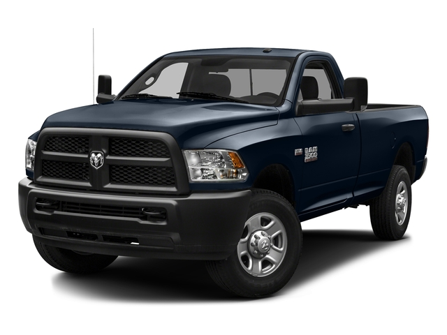 True Blue Pearlcoat 2016 Ram Truck 3500 Pictures 3500 Regular Cab SLT 2WD photos front view