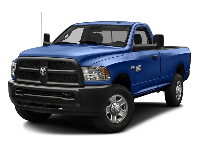 Blue Streak Pearlcoat 2016 Ram Truck 3500 Pictures 3500 Regular Cab SLT 2WD photos front view