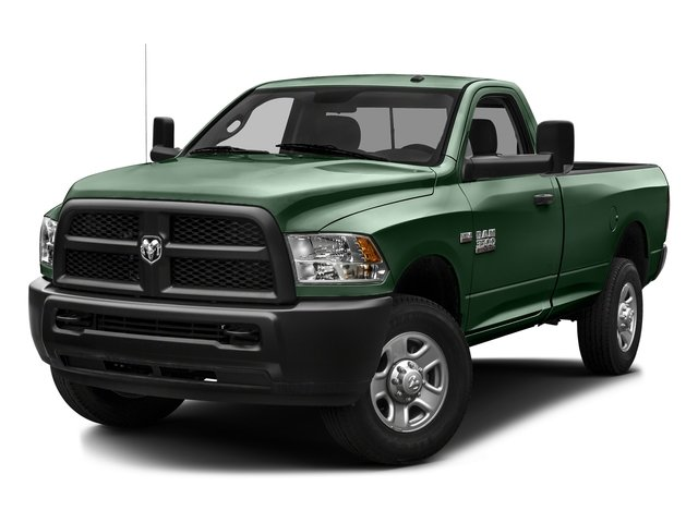 Timberline Green Pearlcoat 2016 Ram Truck 3500 Pictures 3500 Regular Cab SLT 2WD photos front view