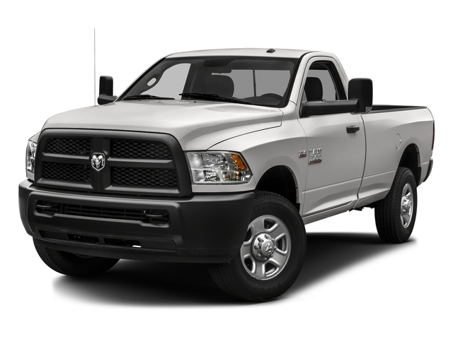 Bright Silver Metallic Clearcoat 2016 Ram Truck 3500 Pictures 3500 Regular Cab SLT 2WD photos front view