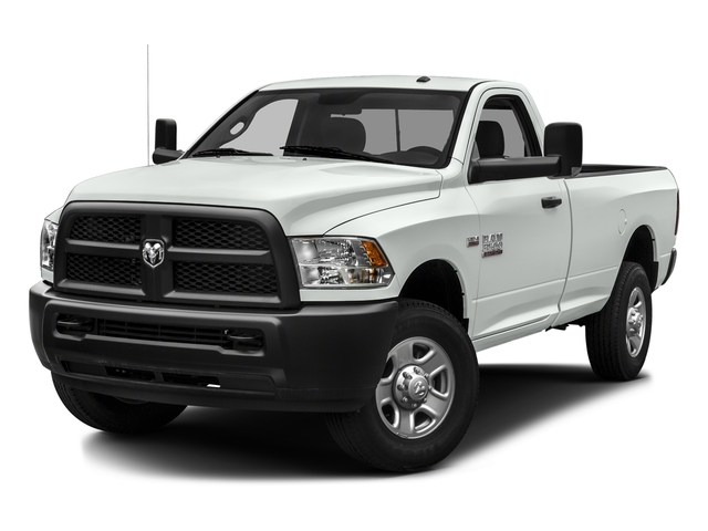 Bright White Clearcoat 2016 Ram Truck 3500 Pictures 3500 Regular Cab SLT 2WD photos front view