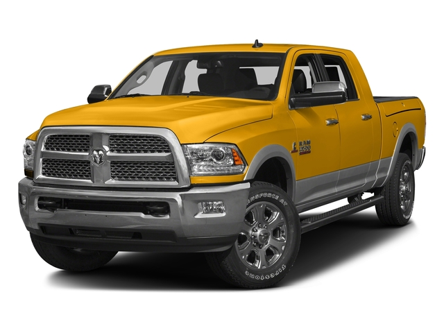Construction Yellow 2016 Ram Truck 3500 Pictures 3500 Mega Cab SLT 2WD photos front view