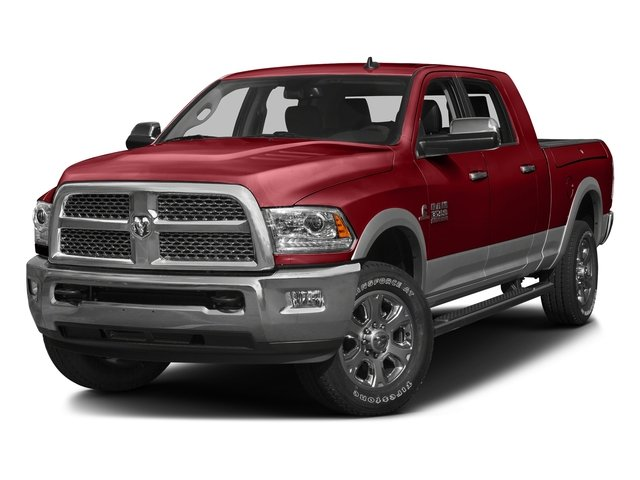 Flame Red Clearcoat 2016 Ram Truck 3500 Pictures 3500 Mega Cab Laramie 2WD photos front view