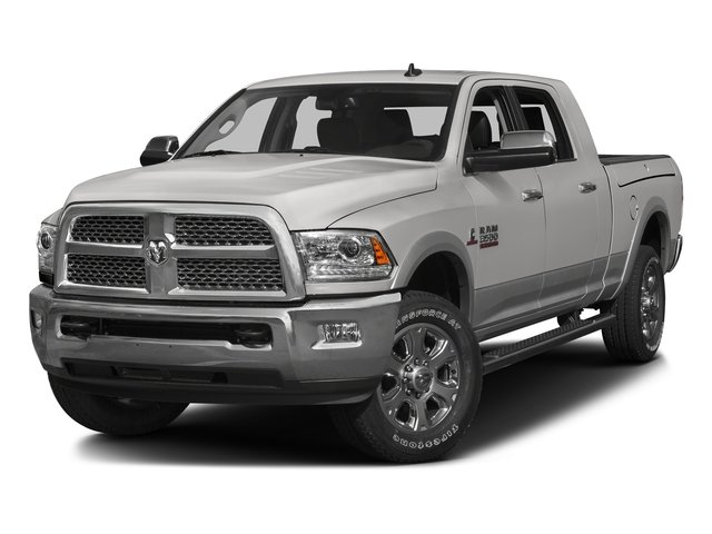 Bright Silver Metallic Clearcoat 2016 Ram Truck 3500 Pictures 3500 Mega Cab SLT 2WD photos front view
