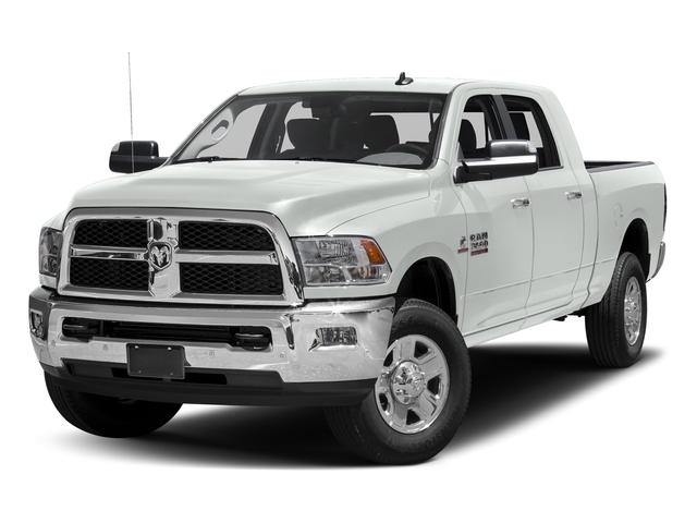 Bright White Clearcoat 2016 Ram Truck 3500 Pictures 3500 Mega Cab SLT 4WD photos front view