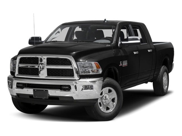 Black Clearcoat 2016 Ram Truck 3500 Pictures 3500 Mega Cab SLT 4WD photos front view