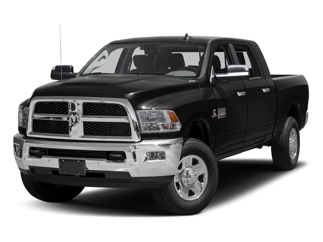 Brilliant Black Crystal Pearlcoat 2016 Ram Truck 3500 Pictures 3500 Mega Cab SLT 4WD photos front view