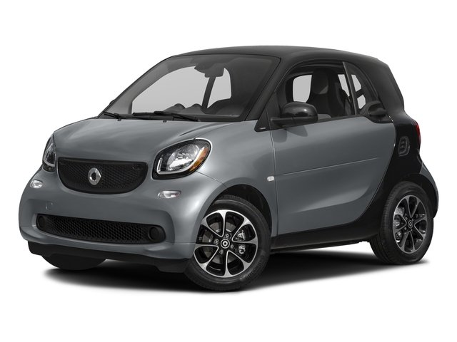 Titania Grey (Matte) 2016 smart fortwo Pictures fortwo Coupe 2D Pure I3 photos front view