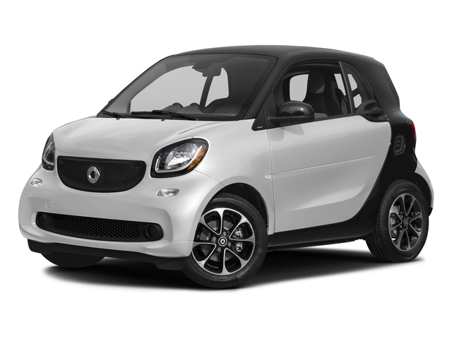 Arctic White 2016 smart fortwo Pictures fortwo Coupe 2D Pure I3 photos front view