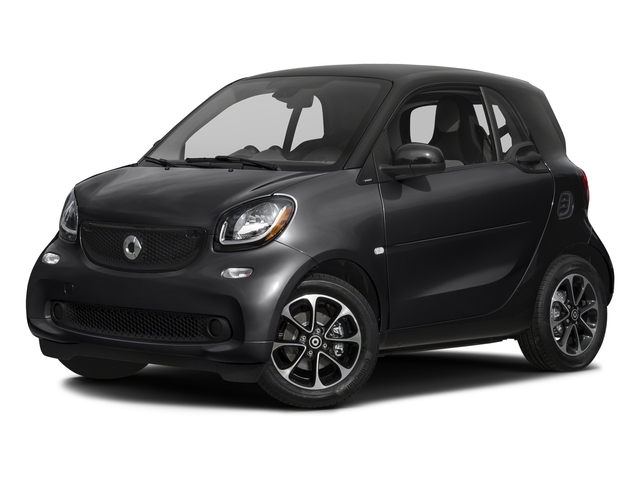 Deep Black 2016 smart fortwo Pictures fortwo Coupe 2D Pure I3 photos front view