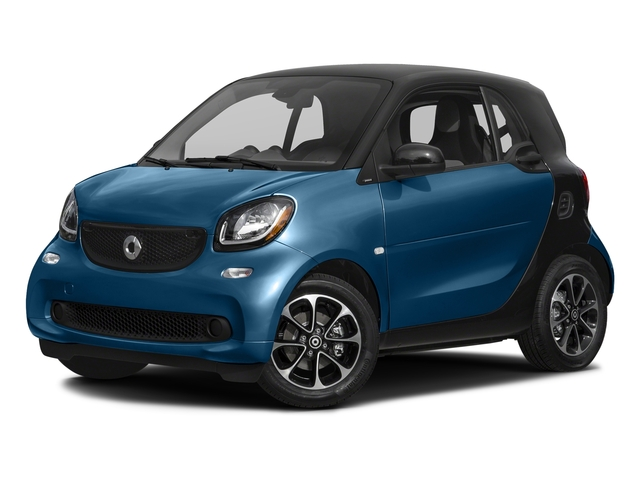 Midnight Blue (metallic) 2016 smart fortwo Pictures fortwo Coupe 2D Pure I3 photos front view