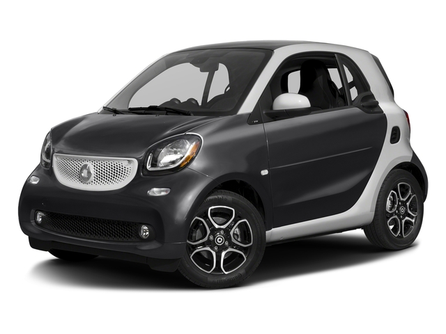 Deep Black 2016 smart fortwo Pictures fortwo Coupe 2D Proxy I3 photos front view