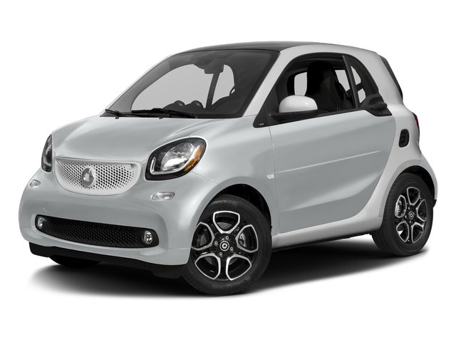 Moon White (matte) 2016 smart fortwo Pictures fortwo Coupe 2D Proxy I3 photos front view