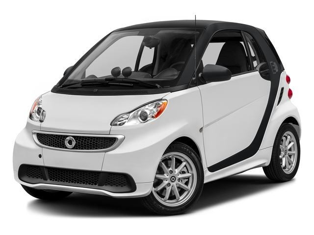 Crystal White 2016 smart fortwo electric drive Pictures fortwo electric drive Coupe 2D Electric photos front view