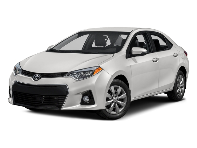 Super White 2016 Toyota Corolla Pictures Corolla Sedan 4D Special Edition I4 photos front view