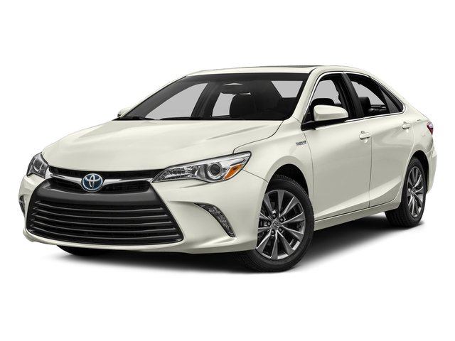 Blizzard Pearl 2016 Toyota Camry Hybrid Pictures Camry Hybrid Sedan 4D SE I4 Hybrid photos front view
