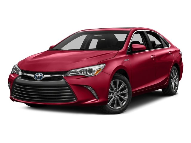 Ruby Flare Pearl 2016 Toyota Camry Hybrid Pictures Camry Hybrid Sedan 4D SE I4 Hybrid photos front view