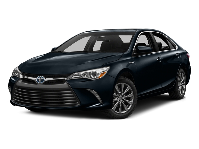 Parisian Night Pearl 2016 Toyota Camry Hybrid Pictures Camry Hybrid Sedan 4D XLE I4 Hybrid photos front view
