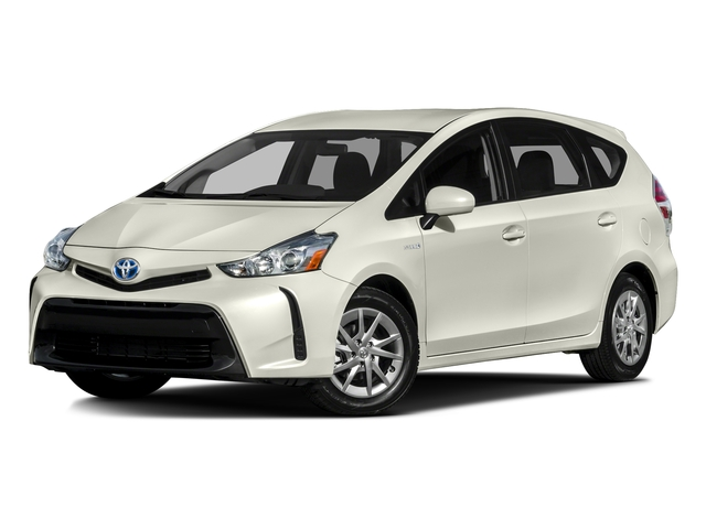 Blizzard Pearl 2016 Toyota Prius v Pictures Prius v Liftback 5D v I4 Hybrid photos front view