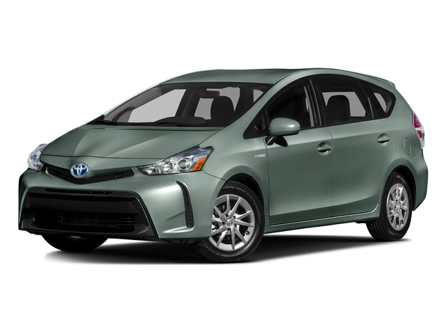 Sea Glass Pearl 2016 Toyota Prius v Pictures Prius v Liftback 5D v I4 Hybrid photos front view