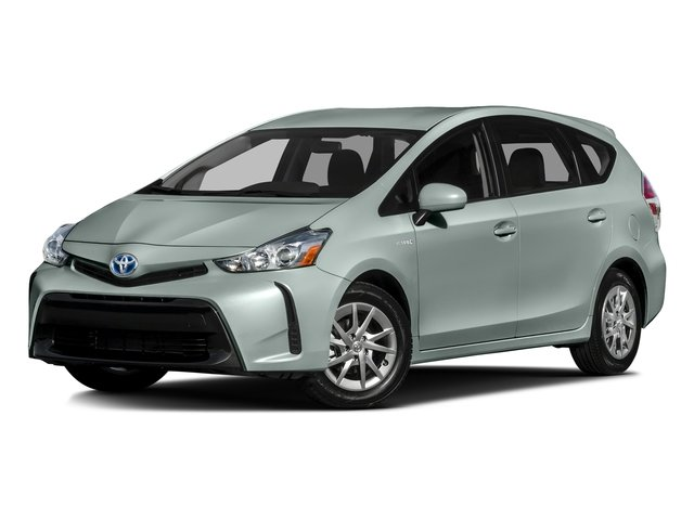Clear Sky Metallic 2016 Toyota Prius v Pictures Prius v Liftback 5D v I4 Hybrid photos front view