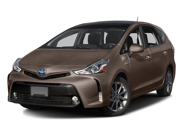 Toasted Walnut Pearl 2016 Toyota Prius v Pictures Prius v Liftback 5D v Five I4 Hybrid photos front view