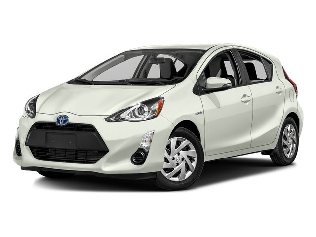 Moonglow 2016 Toyota Prius c Pictures Prius c Liftback 5D c I4 Hybrid photos front view