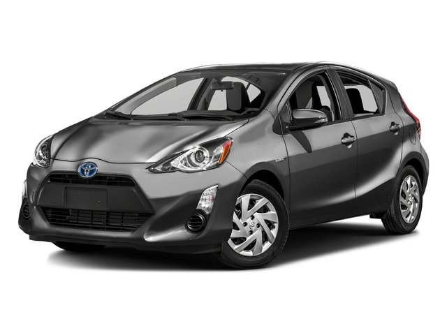 Magnetic Gray Metallic 2016 Toyota Prius c Pictures Prius c Liftback 5D c I4 Hybrid photos front view