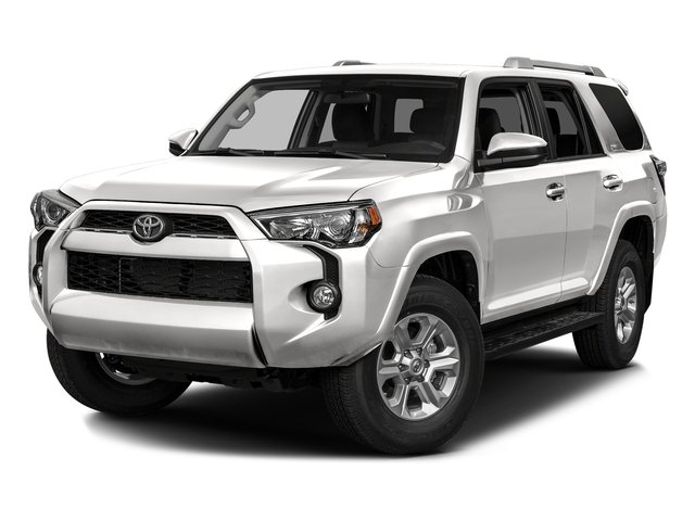 Super White 2016 Toyota 4Runner Pictures 4Runner Utility 4D SR5 2WD V6 photos front view