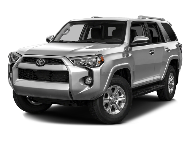 Classic Silver Metallic 2016 Toyota 4Runner Pictures 4Runner Utility 4D SR5 2WD V6 photos front view