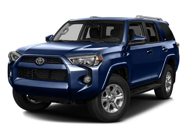 Nautical Blue Pearl 2016 Toyota 4Runner Pictures 4Runner Utility 4D SR5 2WD V6 photos front view