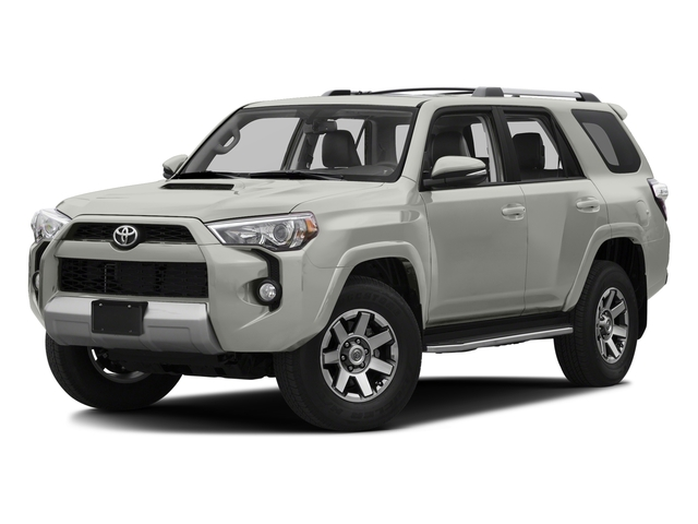 Classic Silver Metallic 2016 Toyota 4Runner Pictures 4Runner Utility 4D Trail Edition 4WD V6 photos front view