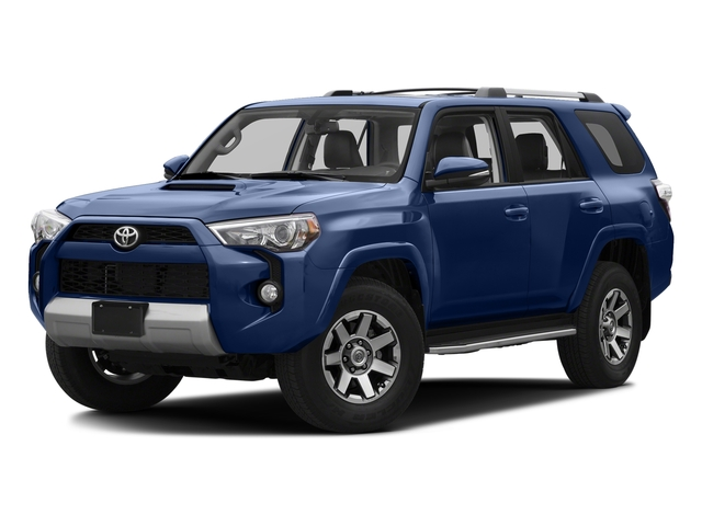 Nautical Blue Pearl 2016 Toyota 4Runner Pictures 4Runner Utility 4D Trail Edition 4WD V6 photos front view