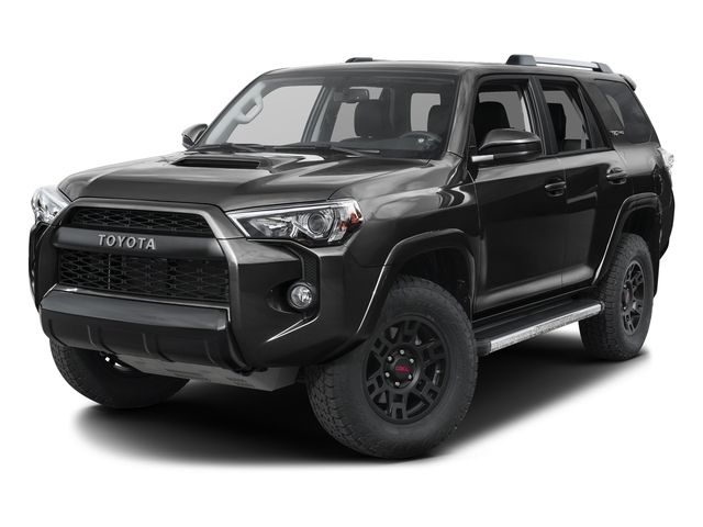 Magnetic Gray Metallic 2016 Toyota 4Runner Pictures 4Runner Utility 4D TRD Pro 4WD V6 photos front view