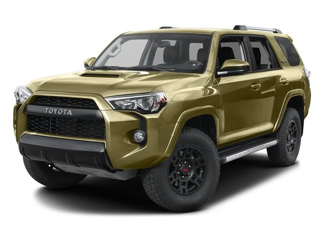 Quicksand 2016 Toyota 4Runner Pictures 4Runner Utility 4D TRD Pro 4WD V6 photos front view