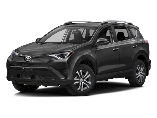Magnetic Gray Metallic 2016 Toyota RAV4 Pictures RAV4 Utility 4D LE 2WD I4 photos front view