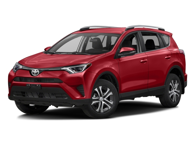 Barcelona Red Metallic 2016 Toyota RAV4 Pictures RAV4 Utility 4D LE 2WD I4 photos front view