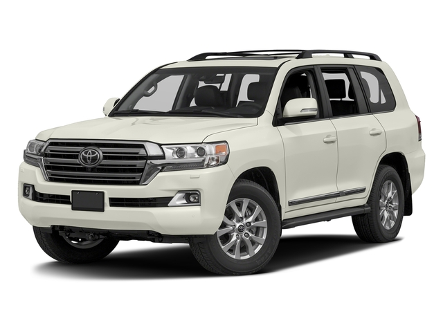 Blizzard Pearl 2016 Toyota Land Cruiser Pictures Land Cruiser Utility 4D 4WD V8 photos front view