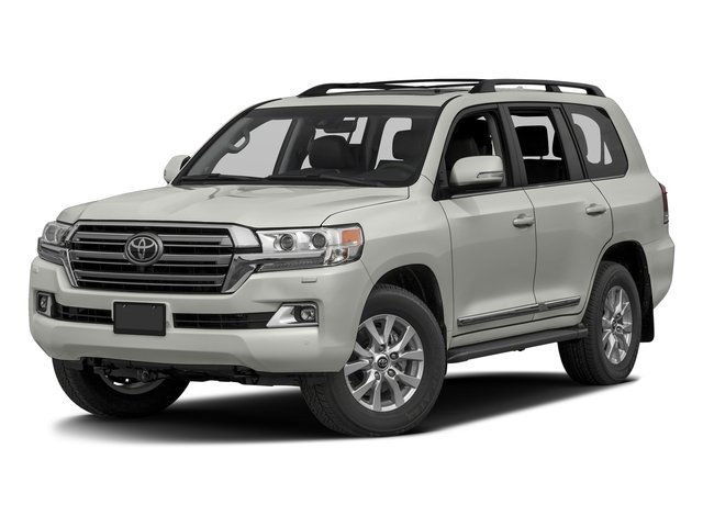 Classic Silver Metallic 2016 Toyota Land Cruiser Pictures Land Cruiser Utility 4D 4WD V8 photos front view