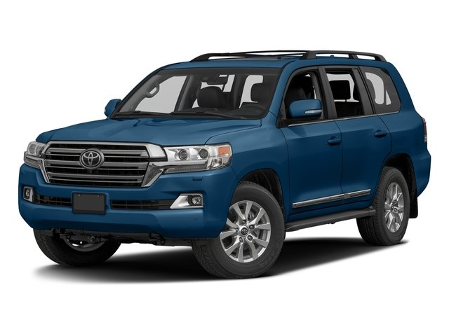Blue Onyx Pearl 2016 Toyota Land Cruiser Pictures Land Cruiser Utility 4D 4WD V8 photos front view