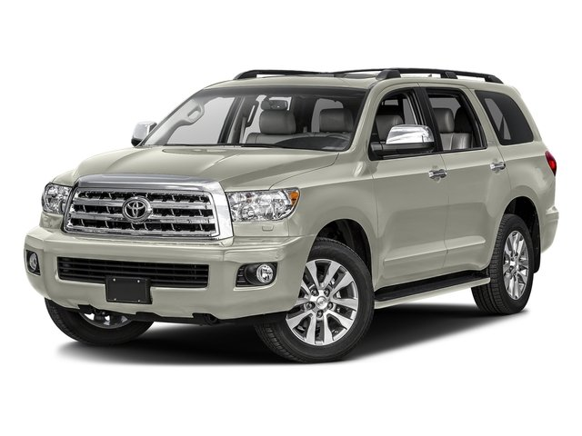Blizzard Pearl 2016 Toyota Sequoia Pictures Sequoia Utility 4D Platinum 4WD V8 photos front view