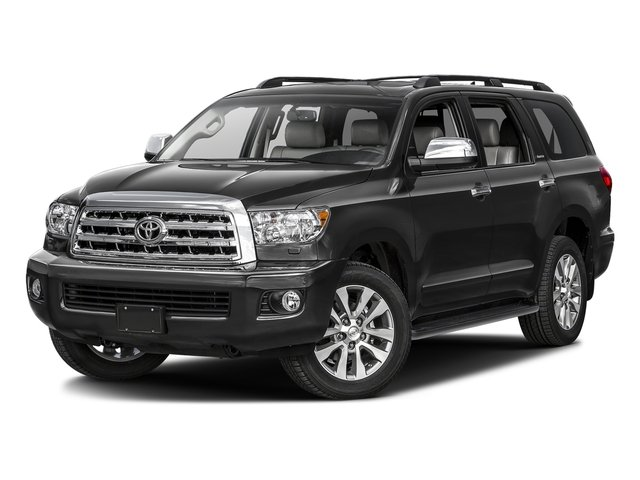 Magnetic Gray Metallic 2016 Toyota Sequoia Pictures Sequoia Utility 4D Platinum 4WD V8 photos front view