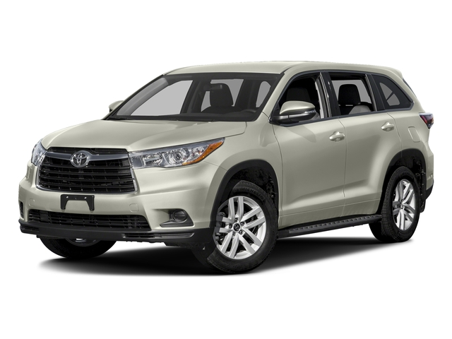 Blizzard Pearl 2016 Toyota Highlander Pictures Highlander Utility 4D LE 2WD I4 photos front view