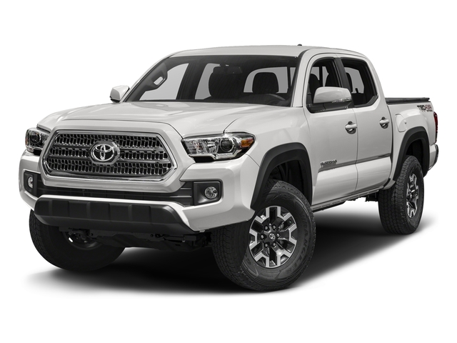 Super White 2016 Toyota Tacoma Pictures Tacoma TRD Off-Road Crew Cab 2WD V6 photos front view