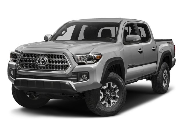 Silver Sky Metallic 2016 Toyota Tacoma Pictures Tacoma TRD Off-Road Crew Cab 2WD V6 photos front view