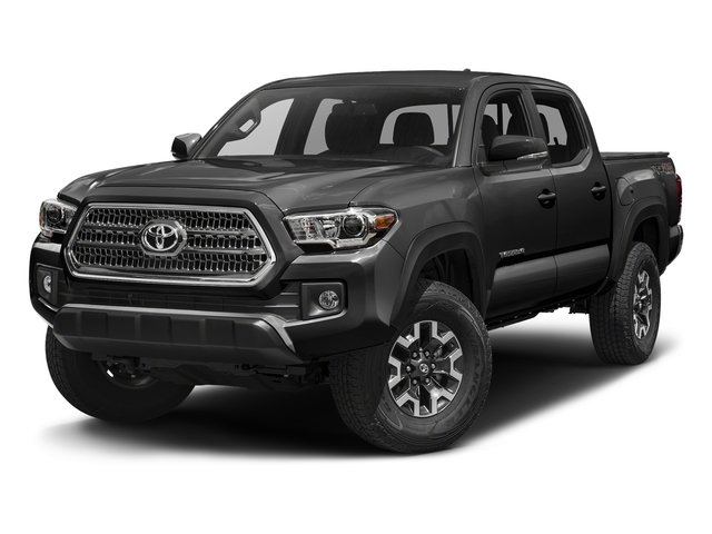 Magnetic Gray Metallic 2016 Toyota Tacoma Pictures Tacoma TRD Off-Road Crew Cab 2WD V6 photos front view