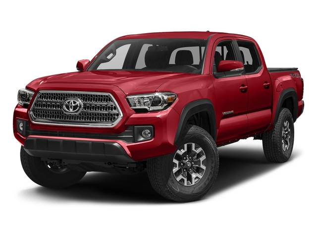 Barcelona Red Metallic 2016 Toyota Tacoma Pictures Tacoma TRD Off-Road Crew Cab 2WD V6 photos front view